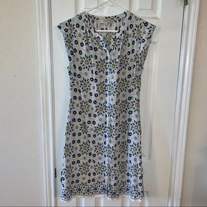 Ann Taylor LOFT Floral Shift Dress Sz M